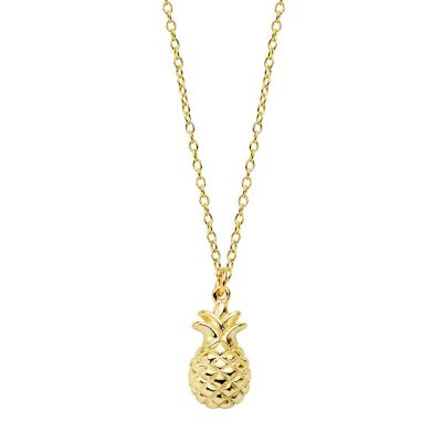 COLLAR PINEAPPLE GOLD