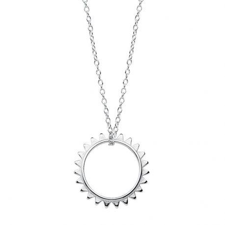 Collar Sol Plata de Ley 925
