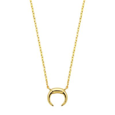 COLLAR MINI MOON GOLD