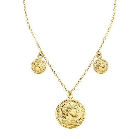 Collar Plata de Ley Moneda Romana
