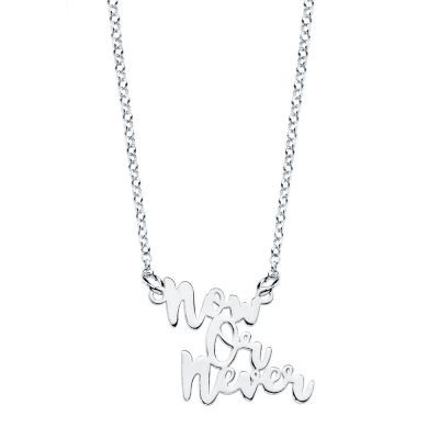 COLLAR NOW OR NEVER PLATA