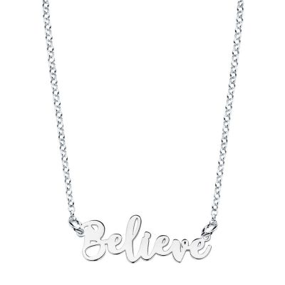 COLLAR BELIEVE PLATA