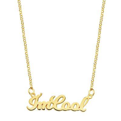 COLLAR I´M COOL GOLD