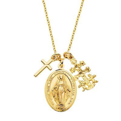 COLLAR RELIGIOUS GOLD
