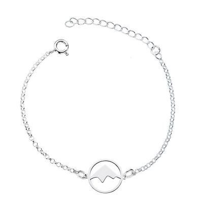 PULSERA MOUNTAINS PLATA
