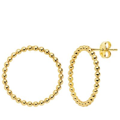 PENDIENTES CIRCLE GOLD
