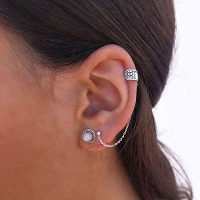 PENDIENTES EAR CUFF SNAKE