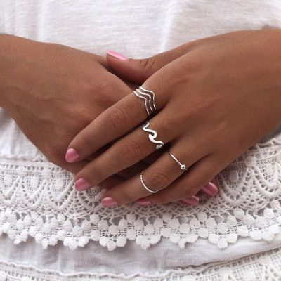 ANILLO MIDI TWISTED
