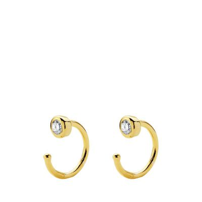 PENDIENTES LUXURY ZIRCONIA GOLD