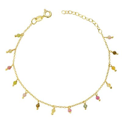 PULSERA RAINBOW GOLD