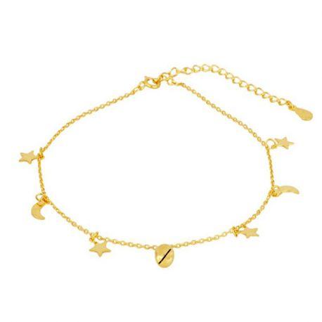 TOBILLERA CASCABEL GOLD