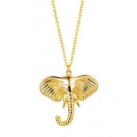 Collar Elefante Oro