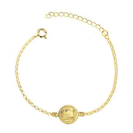 Pulsera Moneda Romana Gold