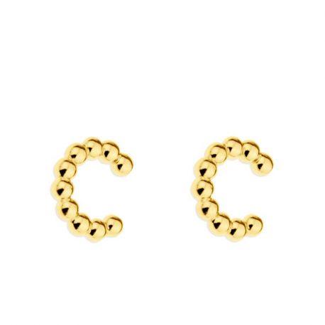 Ear Cuff Pebbles Gold