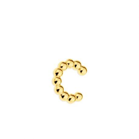 Ear Cuff Suelto Pebbles Gold
