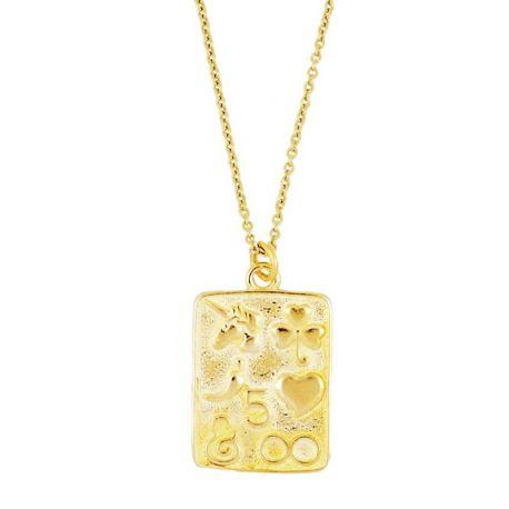 Collar Aruna Gold