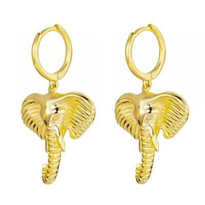 Pendientes Aros Safari Gold