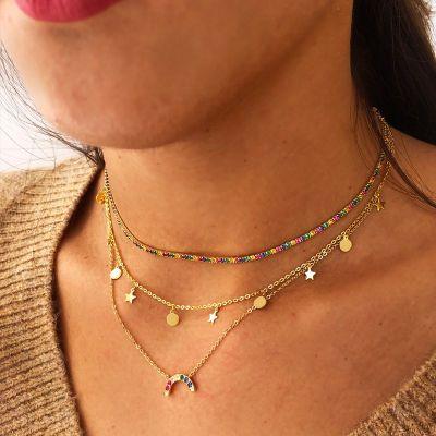 Collar Flora Gold