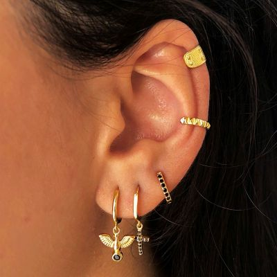 Ear Cuff Spike Gold