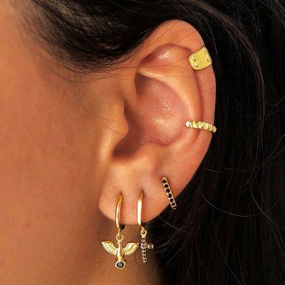 Ear Cuff April Gold