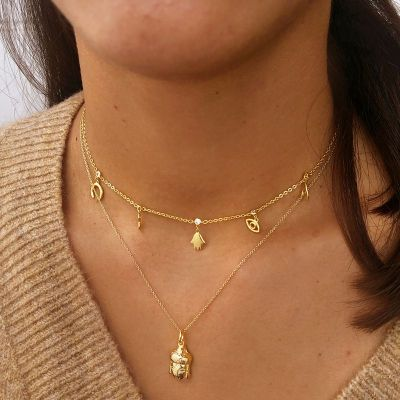 Collar Prajna Gold