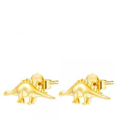 Pendientes Dino Gold