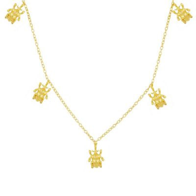 Collar Khepri Gold
