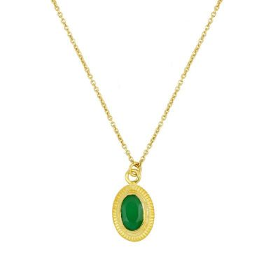 Collar Zaida Verde Gold