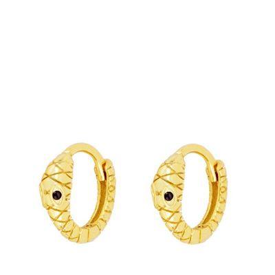 Pendientes Aros Balú Gold