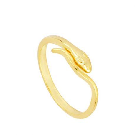 Anillo Snake Gold