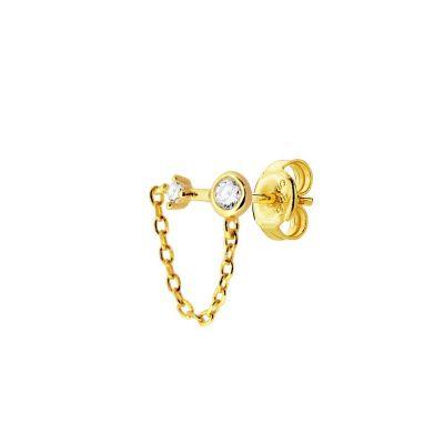 Pendiente Suelto Chain Gold