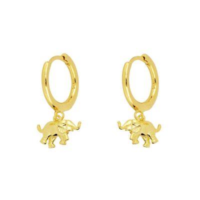 Pendientes Aros Dumbo Gold