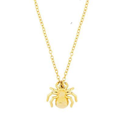 Collar Spider Gold