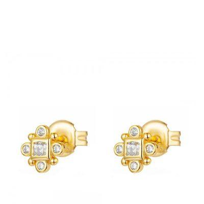Pendientes Tiara Gold