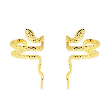 Ear Cuff Snake Gold