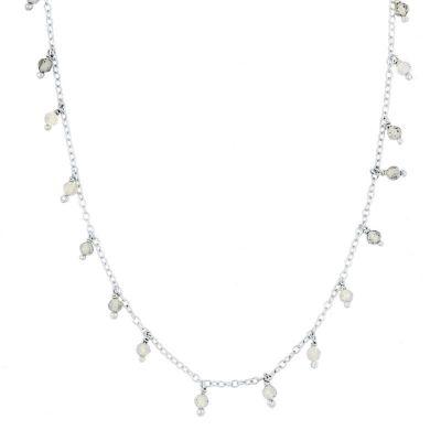 Collar Clara Labradorita Plata