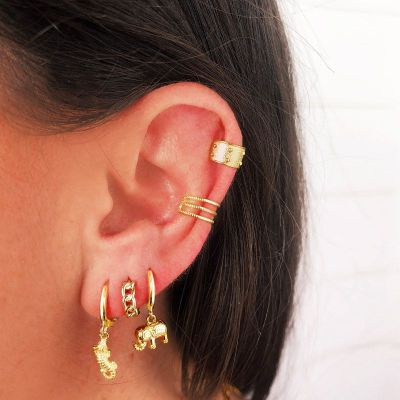 Ear Cuff April Gold