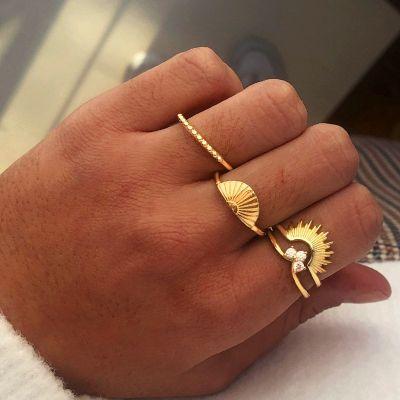 Anillo Sun Gold