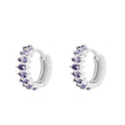 Aros Eider Purple Plata