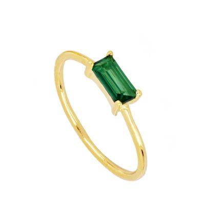Anillo Mineral Green Gold