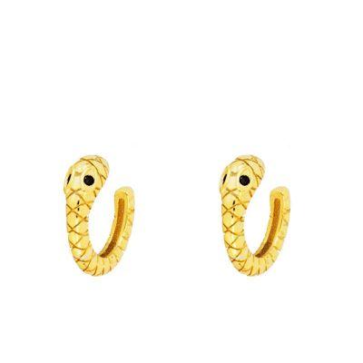 Ear Cuff Serpiente Oro