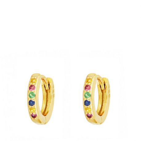 Aros Mini Rainbow Gold