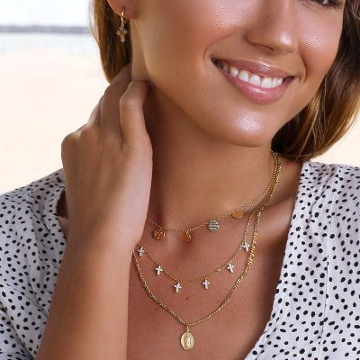 COLLAR GUADALUPE GOLD
