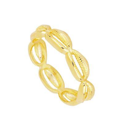 Anillo Conchas Gold