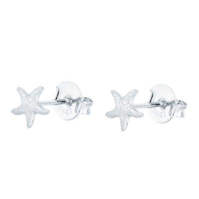 Pendientes de Estrellas en Plata