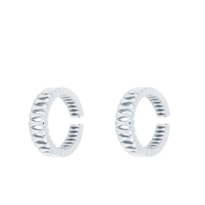Ear Cuff de Mujer Plata