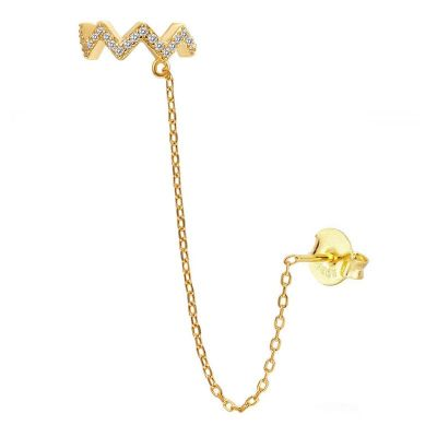 Ear Cuff Thunder Gold
