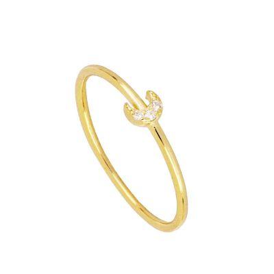 Anillo Lunita Mini Gold