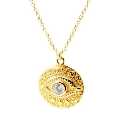 Colgante Ojo de Horus Oro