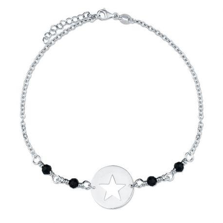 Pulsera de Estrella en Plata